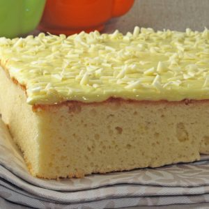 Lemon Square Cake