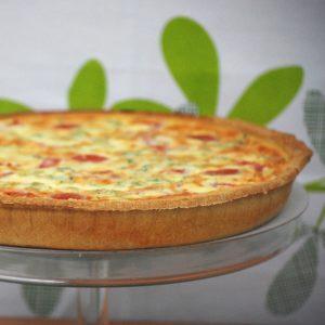 Broccoli & Sundried Tomato Quiche