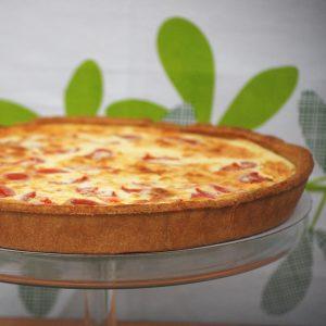 Cheese & Sundried Tomato Quiche