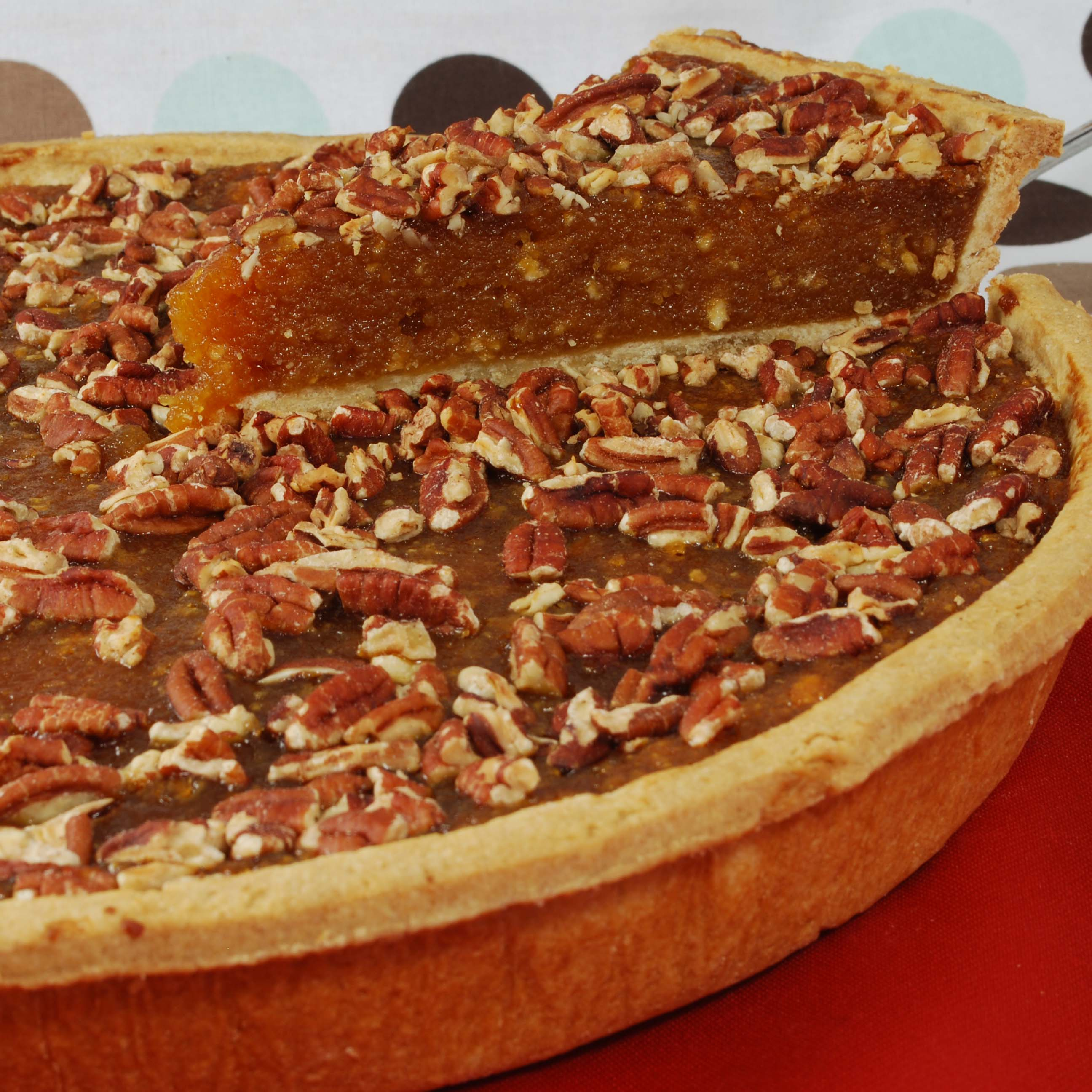 Pecan and Treacle Tart
