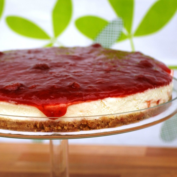 Strawberry Preserve Cheesecake