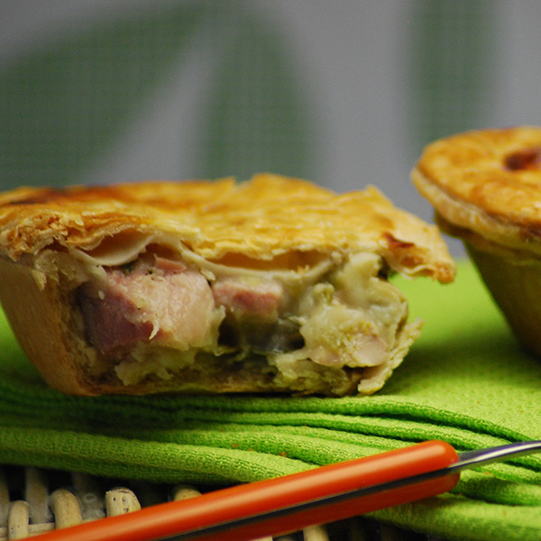 Chicken Leek & Ham Pie