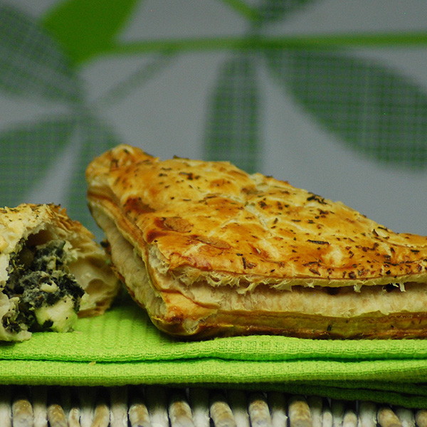Feta Spinach & Pea Pasty