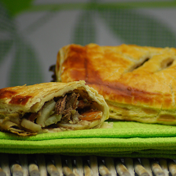 Steak & Vegetable Pasty