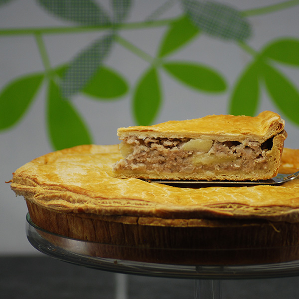 Sausage and Onion Pie
