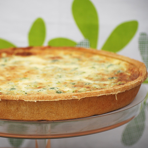 Broccoli & Stilton Quiche