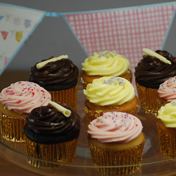 Mixed Cup Cakes