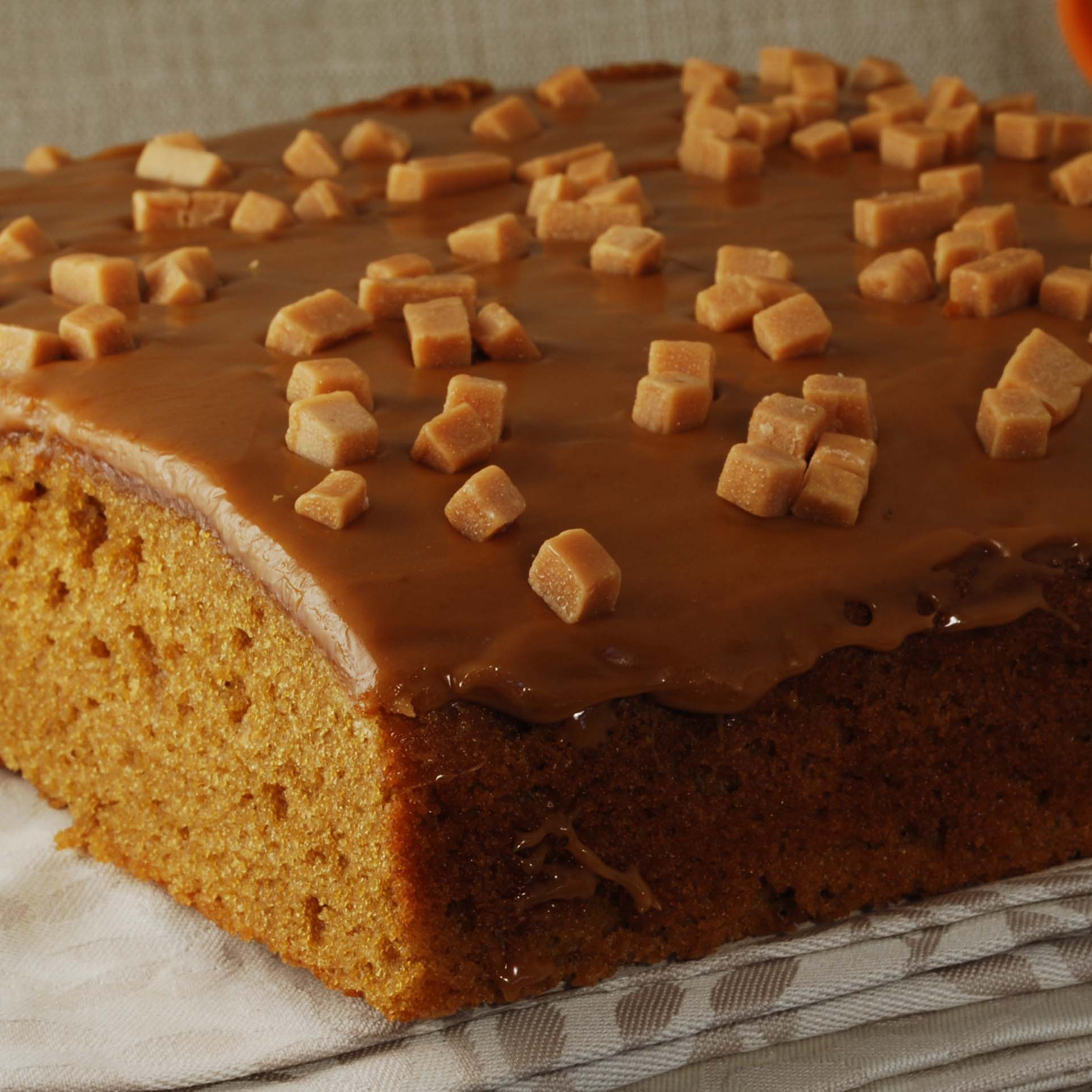 Toffee Square Cake
