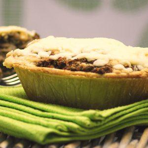 Mushroom Bean & Lentil Pie