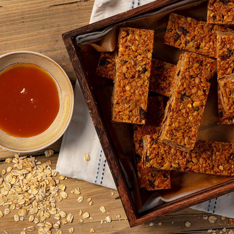 Salted Caramel & Raisin x 15