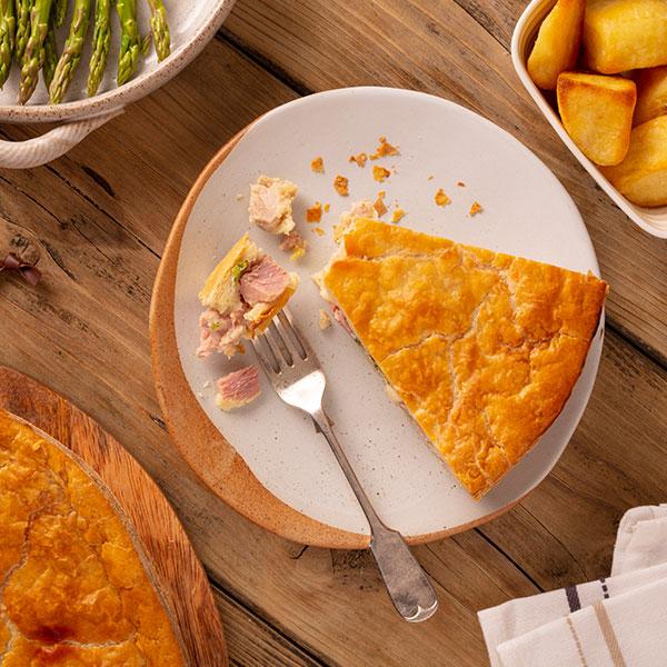 Chicken Ham & Broccoli Pie