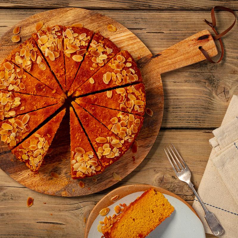 Polenta & Orange Cake